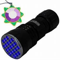 380 Nm Light Hqrp 21 Led Uv 385 Nm Ultra Violet Blacklight Flashlight
