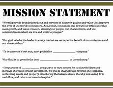 Mission Statement Sample Mission Statements Are Nonsense Competitive Positioning Wins