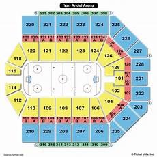 Van Wezel Seating Chart With Seat Numbers Van Andel Arena Seating Chart Seating Charts Amp Tickets