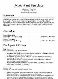 Resume Sample For Accountants Accounting Resume Sample Accountant Drafted Examples