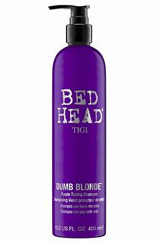 tigi bed dumb purple toning shoo 400 ml