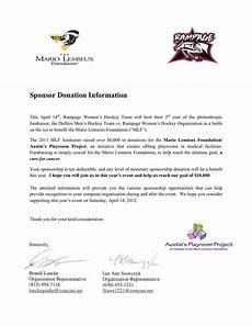 Non Profit Sponsorship Proposal Template 17 Event Sponsorship Letter Samples Sponsorship Letter