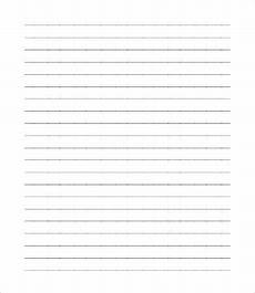 Blank Line Paper Blank Paper Templates 7 Free Word Pdf Documents