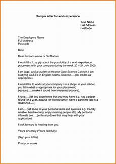 Contoh Appeal Letter Experience Letter Format For Work Appeal Letters Sample