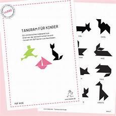Tangram Kinder Malvorlagen Kostenlos Tangram F 252 R Kinder Pdf Labb 233