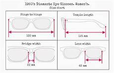 Eyeglasses Measurements Chart Vintage And Loved