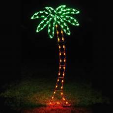 Light Up Palm Tree Holiday Lights Led Palm Tree Light Display 8 8 H