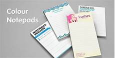 Notepad Designs Full Colour Notepad Printing From Jukeboxprint Com