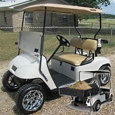 Custom Ez Go 36v Electric Utility Golf Cart With Brute
