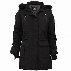 hooded winter coats parka jacket brave soul womens coat padded hooded