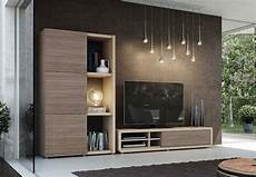 modern wall storage system with tv unit and