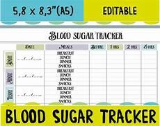 Blood Glucose Log Book Printable Blood Sugar Tracker Printable Diabetes Logsheets