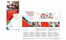 Electronic Brochure Software Application Software Developer Tri Fold Brochure Template