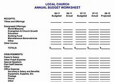 Church Budget Church Budget Template Shatterlion Info