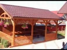 tettoie di legno tettoie in legno di castagno di pacelegnami