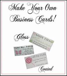 Make Your Own Business Gift Cards Make Your Own Business Cards Getting Craft Y Pinterest