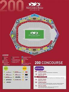 Seating Chart Mercedes Benz Atlanta United Stadium Maps Mercedes Benz Stadium With Atlanta Falcons