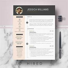 Modern Picture Resume Professional Amp Modern Resume Template On Behance