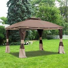 gazebo walmart benen gazebo replacement canopy and net riplock 350