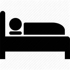 bed bedroom hospital patient sleep sleeping icon