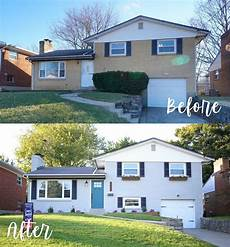 house exterior before after hazelwood homes home