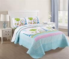 marcielo 3 bedspread quilts set throw blanket