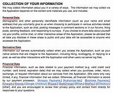 Privacy Policy Sample Differences Between A Privacy Policy Disclaimer And