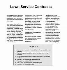 Lawn Care Proposal Template Lawn Service Proposal Template Free