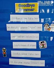 Pocket Chart Poems For Kindergarten Poems For Kindergarten And First Grade