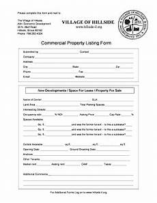 Property Listing Form Template Form Listing Property Fill Online Printable Fillable