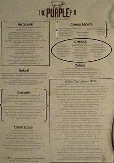 Every Trendy Restaurant Menu What Every Trendy Restaurant Menu Looks Like Gbcn