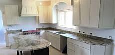 pictures of kitchen backsplashes with granite countertops granite kitchen countertop w 4 backsplash custom bevel