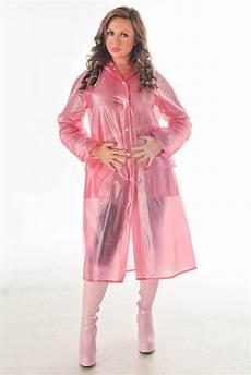 pvc plastic vinyl raincoat regenmantel rainwear