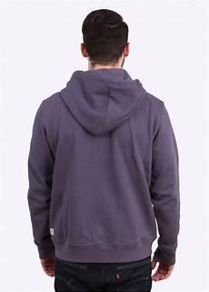 Light Purple Hoodie Mens Paul Smith Zip Front Hoody Light Purple