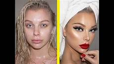 amazing before and after makeup transformation pictures