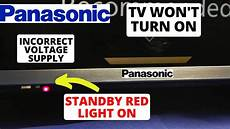 Panasonic Led Tv Blinking Red Light How To Fix Panasonic Tv Red Light On But Wont Turn On