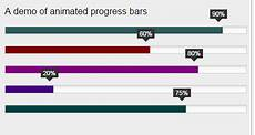Animated Bar Chart Jquery 3 Demos Of Animated Bar Filling For Progress Or Charts By