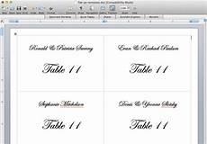 Free Place Card Templates 6 Per Page Place Card Template 6 Per Sheet Amulette