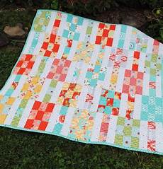 patchwork quilt pattern layer cake or quarters simple