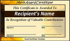 Merit Certificate Sample Free 26 Printable Sample Certificate Templates In Ai