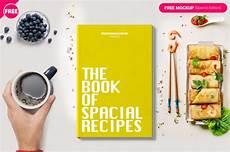 Online Recipe Book Creator Book Cover Free Mockup Freedownloadpsd Com