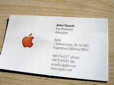 Apple Business Card Template Apple Business Card The Earliest Employee Of Apple That