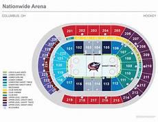 Big E Arena Seating Chart Seating Charts Nationwide Arena