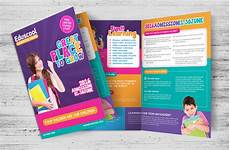 Education Leaflet Design 10 Best Education Amp Training Brochure Templates For