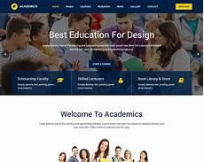 Sample Templates For Website 20 Best Education Html Website Templates 2019 Templatemag
