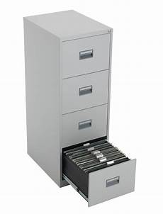 tc talos 4 drawer steel filing cabinet tcs4fc gr in grey