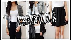 basic clothes my top 10 wardrobe essentials basic clothing pieces