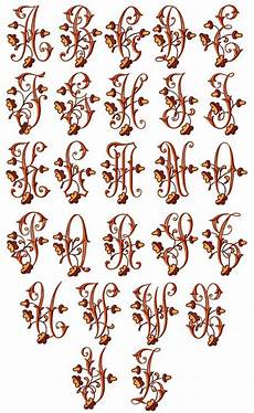 Letter Desings Embroidery Alphabet Designs Free Embroidery Patterns