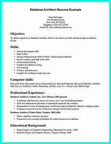 Professional Background Resume Examples In The Data Architect Resume One Must Describe The