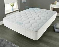 memory foam luxury matress sprung mattress 3ft single 4ft6